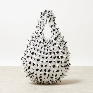 Large Dot Petit bag Color No.1859(ホワイト*ブラックDot)