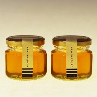 そのまんまのはちみつ <さいたまの蜜 -- 2020年> 70g×2個 — 国産・非加熱・無濾過のはちみつ —