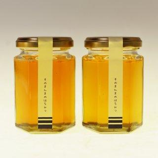そのまんまのはちみつ <さいたまの蜜 -- 2020年> 180g×2個 — 国産・非加熱・無濾過のはちみつ —