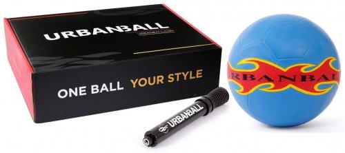 【送料無料】URBANBALL  SKYFIRE  フリースタイル用ボール -ミニポンプ付き、ボックス入り