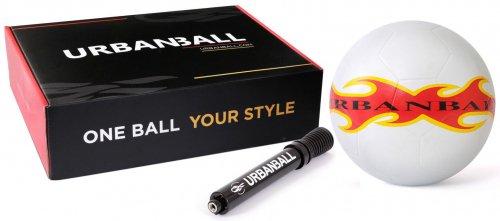 【送料無料】URBANBALL WHITEFIRE  フリースタイル用ボール -ミニポンプ付き、ボックス入