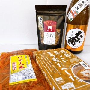 大天狗特別純米×酒屋の好きなおつまみセットA