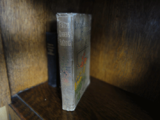 イギリスのアンティーク本 (ENOCH RODEN'S TRAINING)