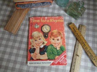 ヴィンテージ絵本(Time for a Rhyme)