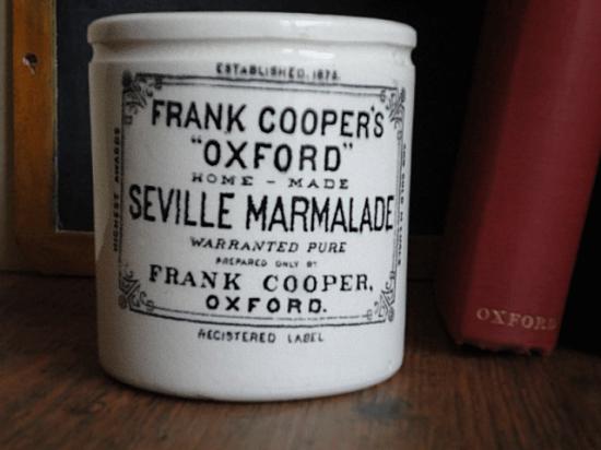 イギリスアンティーク フランク・クーパー マーマレードポット