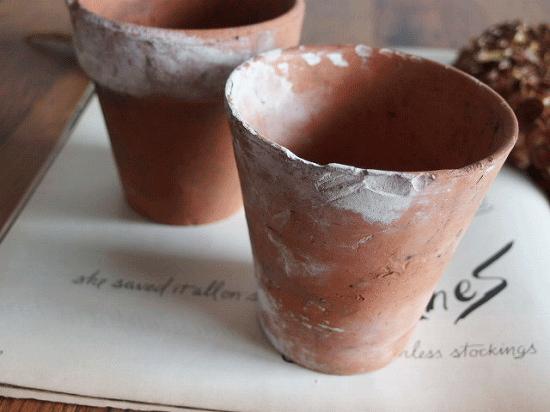 イギリスアンティーク アイアン製ポットホルダー(植木鉢付き)