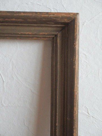 フィレンチェ美術学校の木製アンティークフレーム