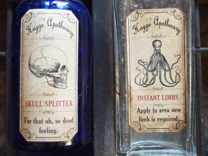 イギリス ヴィンテージボトル 薬瓶2個セット
