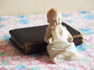 赤ちゃんのビスクドール ミニョネット