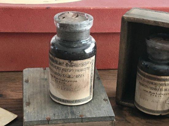 フランス製アンティークボトル(木箱付き)