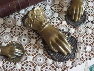 アンティーク 真鍮製 ハンドクリップ(大)