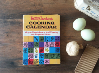 ヴィンテージ本 Betty Crocker's COOKING CALENDAR