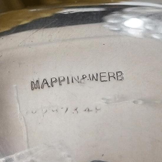 イギリスアンティーク Mappin&Webb マスタードポットとCharles Boyton マスタードスプーンのセット
