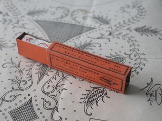 フランスアンティーク イニシャル刺繍テープ(O.T.)