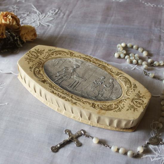 フランスアンティーク チョコレートボックス お菓子の紙箱
