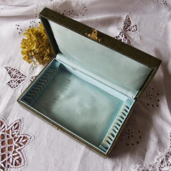 フランスアンティーク シルバープレート ディナースプーンとフォークのセット(専用箱付き)