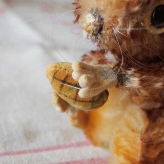 ヴィンテージシュタイフ 雌リスのペリ(Perri)14cm