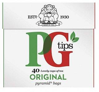 PGティップス(40袋入り) ピラミッド型ティーバッグ