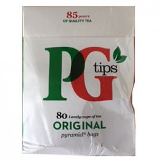 【アウトレット】PGティップス(80袋入り) ピラミッド型ティーバッグ