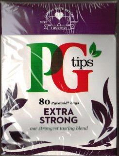【送料込みでこの価格!】【アウトレット】【3個セット】PGティップスストロング(80袋入り) ピラミッド型ティーバッグ