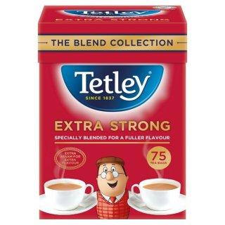 テトリ−・エクストラストロング・75袋入り・Tetley Tea Extra Strong 75TB