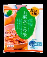 山菜おこわ米370g【国産米】*6袋 ※送料は別途