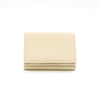 【KIYOKAWA(キヨカワ)】牛革ミニウォレット 三つ折りミニ財布