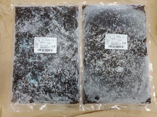 沖縄産洗い冷凍もずく1kg×2Pメイン画像01