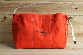 ESTEX | CANVAS TOOL BAG Orange<br />エステックス キャンバスショルダーツールバッグ オレンジ
