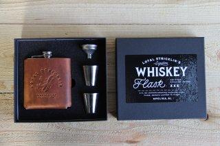 Loyal Stricklin | Signature Whiskey Flask Plane Whisky<br>ロイヤルストリックリン フラスコセット プレーン ウイスキー