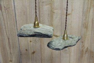 MANOMADE ORIGINAL | ISHITOME LAMP<br />マノメイド イシトメ 石製シェードランプ