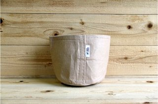 Root Pouch | Tan no handle Non-Degradable 2gal(8L)<br/>ルーツポーチ タン 持手なし 非分解性