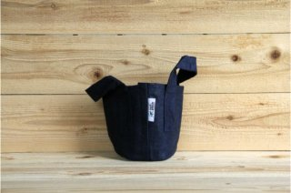 Root Pouch | Navy with handle Non-Degradable 1gal(3.8L)<br/>ルーツポーチ ネイビー 持手付き 非分解性