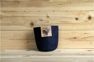 Root Pouch | Navy no handle Non-Degradable 1gal(3.8L)<br/>ルーツポーチ ネイビー 持手なし 非分解性