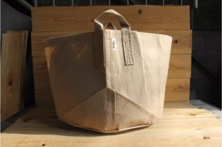 Root Pouch | Tan with handle Non-Degradable 20gal(78L)<br/>ルーツポーチ タン 持手付き 非分解性