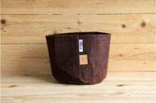 Root Pouch | Brown no handle Non-Degradable 3gal(12L)<br/>ルーツポーチ ブラウン 持手なし 非分解性