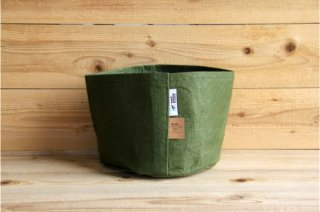 Root Pouch | Green no handle Non-Degradable 3gal(12L)<br/>ルーツポーチ グリーン 持手なし 非分解性