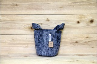 Root Pouch | Grey with handle Degradable 1gal(3.8L)<br/>ルーツポーチ グレー 持手付き 生分解性