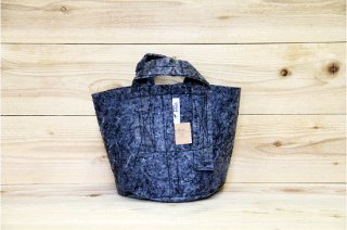 Root Pouch | Grey with handle Degradable 2gal(8L)<br/>ルーツポーチ グレー 持手付き 生分解性