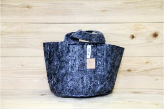 Root Pouch | Grey with handle Non-Degradable 3gal(12L)<br/>ルーツポーチ グレー 持手付き 生分解性