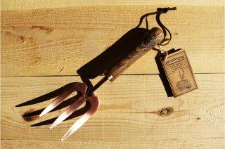 Esschert Design | Copper plated rake fork<br />エシェルトデザイン ハンドフォーク