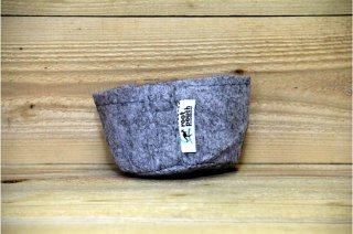 Root Pouch | heather grey JOEY Non-Degradable Small<br/>ルーツポーチ グレー  ジョーイ 非分解性 スモール