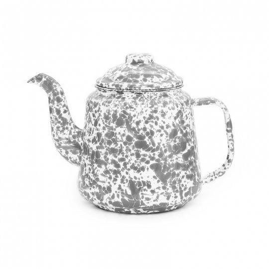 CROW CANYON HOME | Teapot GREY 1.6QT<br>クロウキャニオンホーム ティーポット グレー 1.5L