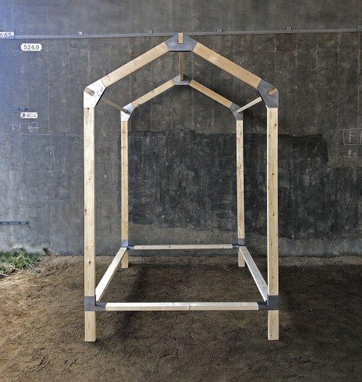 HUTHUB 2X4 hut kit<br />ハットハブ 小屋キット