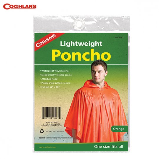 COGHLAN'S | Lightweight Poncho<br/>コフラン ライトウェイトポンチョ