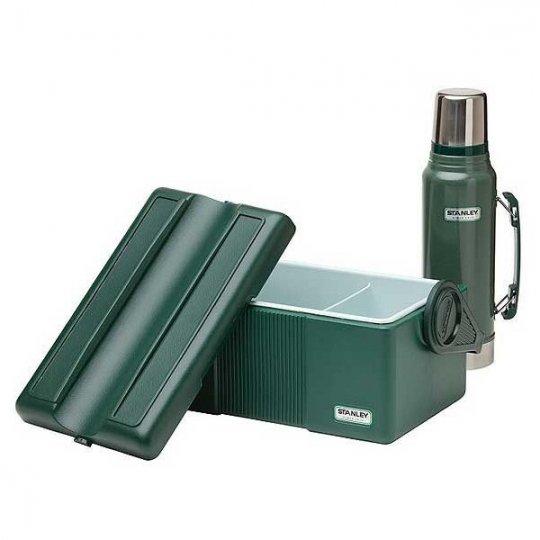 STANLEY | VACUUM BOTTLE 1.1QT & LUNCH COOLER 7QT SET<br/>スタンレー クラシック真空ボトル 1L & ランチクーラー 6.6L セット