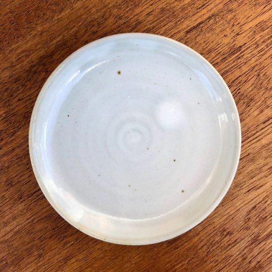 MANOMADE 別注 市野伝市鉢 サクラソウ型 3寸 受け皿