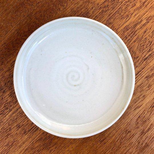 MANOMADE 別注 市野伝市鉢 サクラソウ型 3.5寸 受け皿