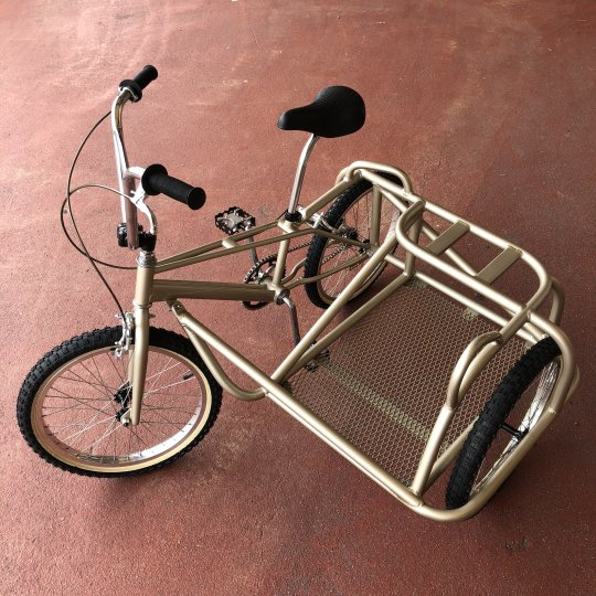 MANOMADE ORIGINAL | 80's BMX & original sidecar