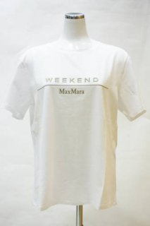 <img class='new_mark_img1' src='https://img.shop-pro.jp/img/new/icons12.gif' style='border:none;display:inline;margin:0px;padding:0px;width:auto;' />【WEEKEND MaxMara】ロゴTシャツ